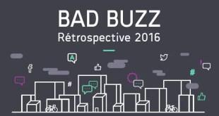 Infographie : rétrospective des bad buzz des marques en 2016