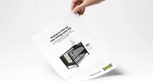 Ikea : uriner sur cette publicité peut changer votre vie