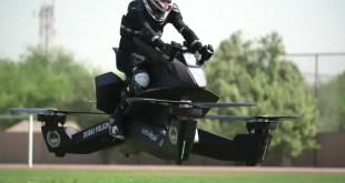 La police de Dubai teste l'Hoverbike pour ses déplacements