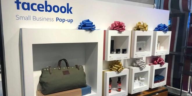 Facebook se lance dans le commerce physique et ouvre des pop-up stores