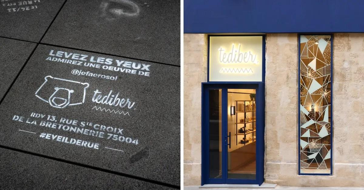 TEDIBER ouvre son concept-store à Paris : la boîte de nuit