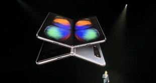 SAMSUNG imagine le futur de la technologie avec le premier smartphone à écran pliable
