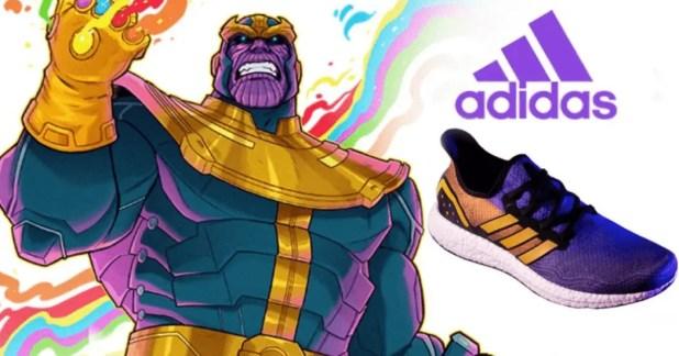 Des L'effigie De Thanos Sneakers Imagine À Adidas XOiuPkZ