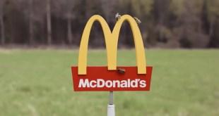 Un minuscule restaurant McDonald's a ouvert ses portes… pour les abeilles