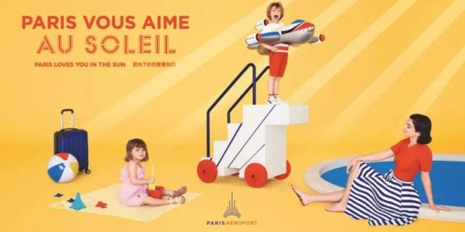 Paris Aéroport se dévoile en print avec l'agence Walk by W