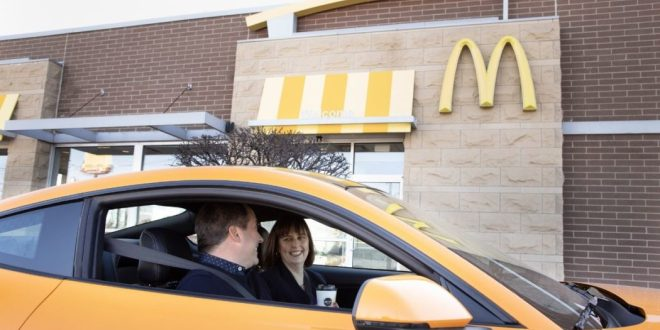 Ford & McDonald's transforment les grains de café en pièces automobiles
