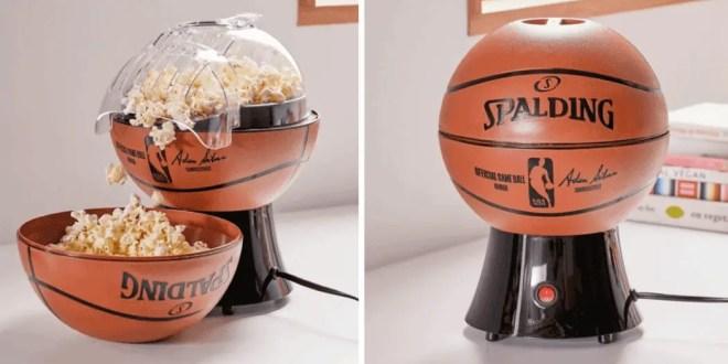 Cette machine à pop-corn va ravir tous les fans de basketball !