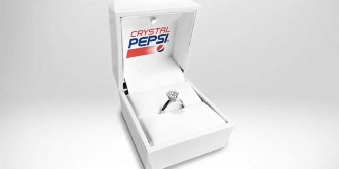 Pour la Saint-Valentin, Pepsi présente sa bague de fiançailles