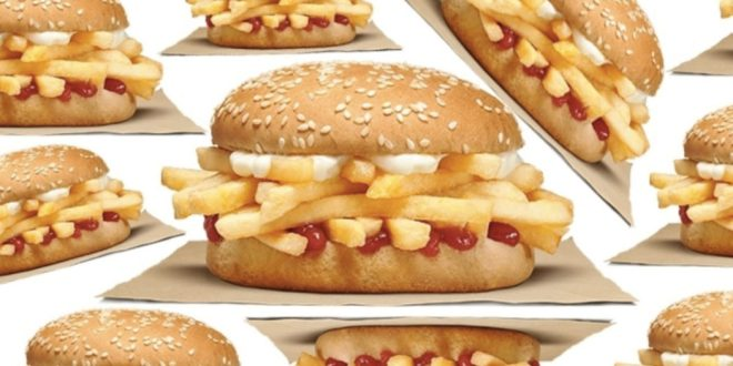 Le French Fry Sandwich : le burger à la frite de Burger King