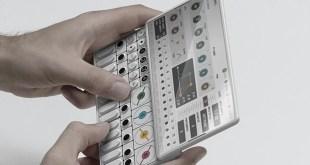 Un studio dévoile le prototype d'un synthétiseur aux allures de smartphone