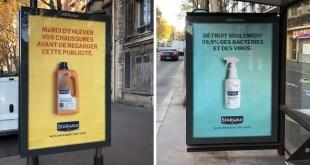 campagne print de buzzman pour starwax