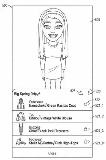 dessin-bitmojis-femme-snapchat