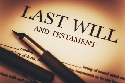 Last Will and Testament estate planning