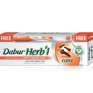 Dabur Herbal Clove Toothpaste 150g.