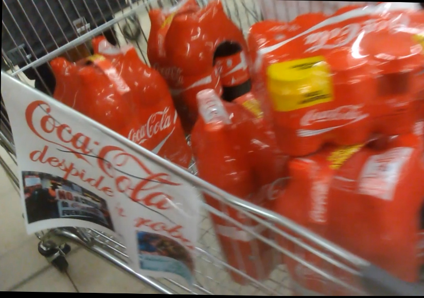 Tarde de acción noviolenta contra Coca Cola