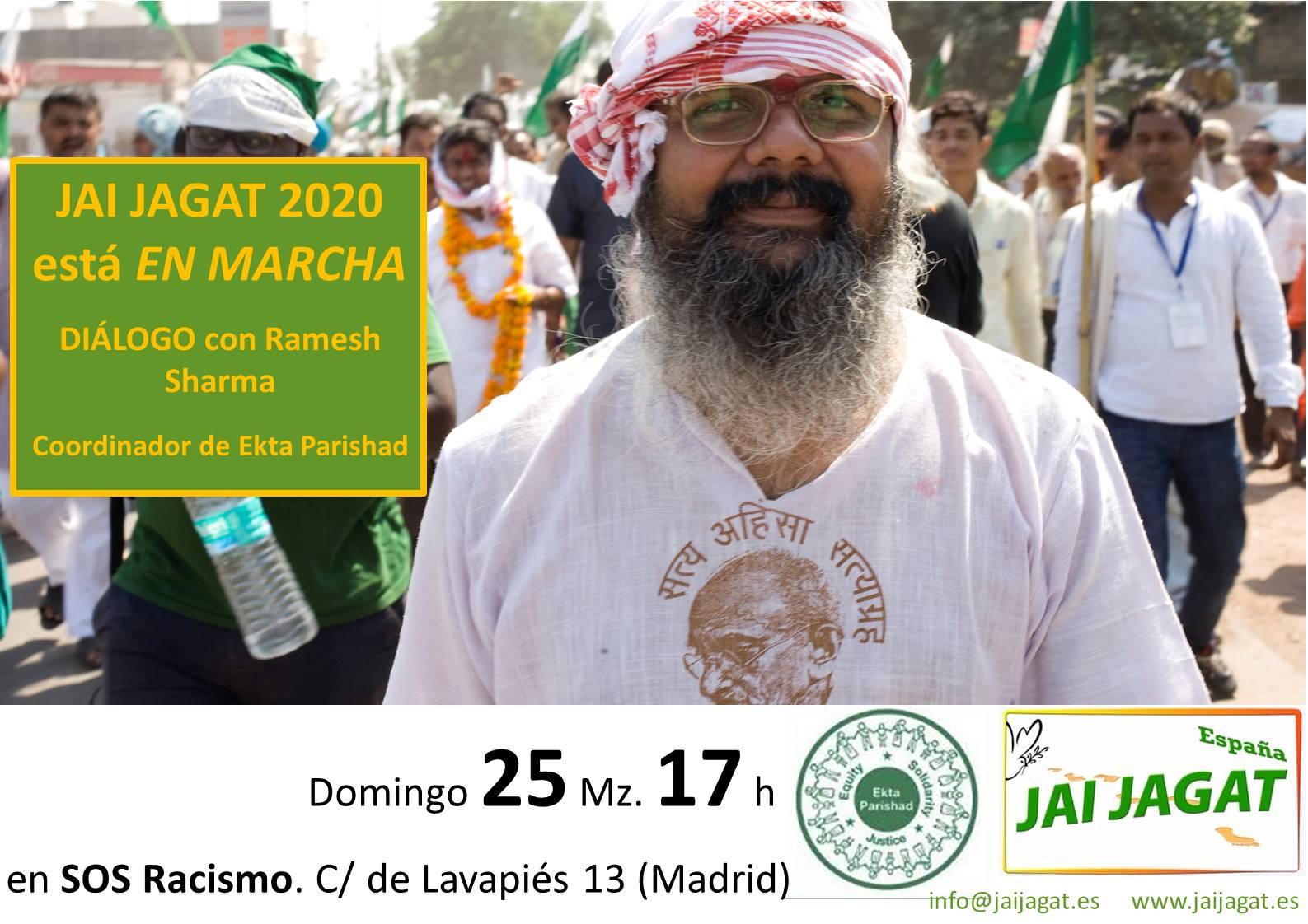 Madrid: Jai Jagat 2020 está en marcha