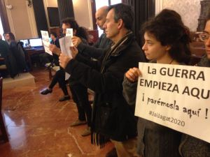 Burgos: La guerra empieza aquí ¡parémosla aquí!