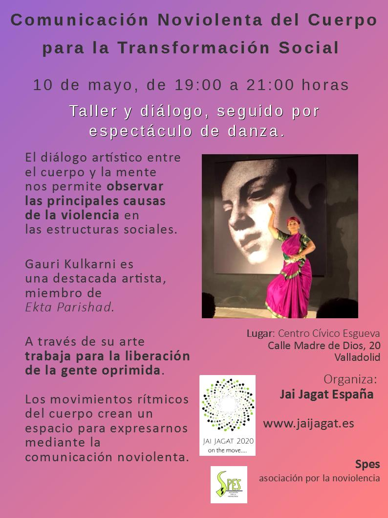 Taller y diálogo en Valladolid. Comunicación noviolenta