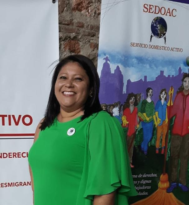 Foro internacional desde abajo. Participantes: Carolina Elías (SEDOAC)
