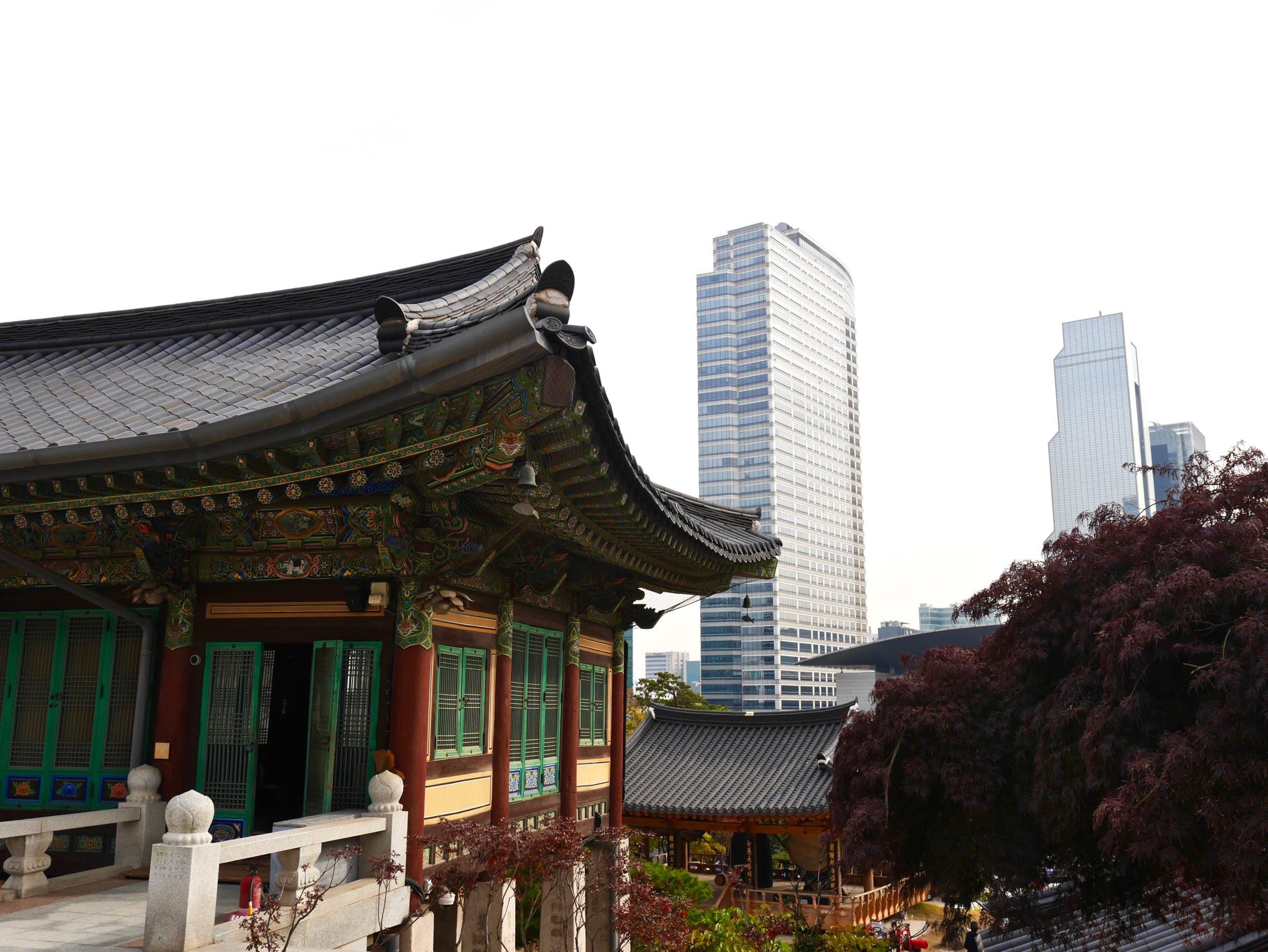 Bongeun-sa Séoul