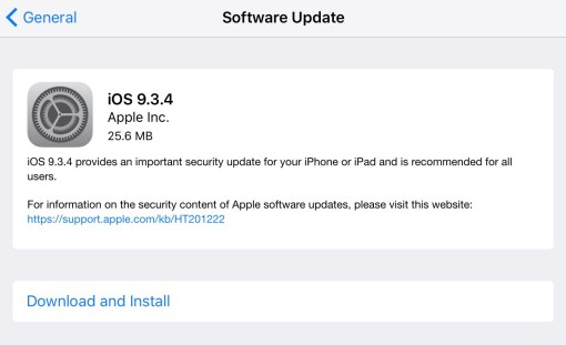 iOS 9.3.4 is now Out-When Will the Luck Turns to Pangu 9.3 ...