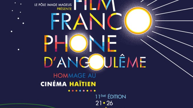 Affiche Film Francophone d'Angoulême 2018