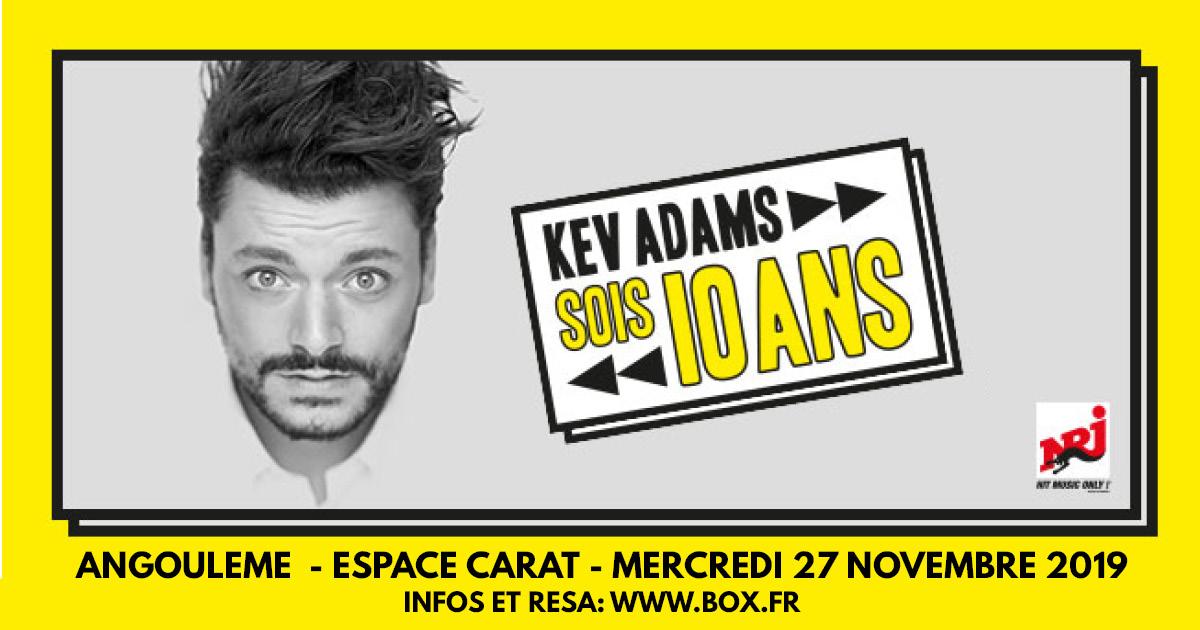 Kev Adams à l'Espace Carat Angoulême
