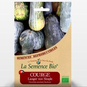 Courge langer von Neaple bio ou COURGE MUSQUEE PLEINE DE NAPLES - Sachet de graines pour les semis du Potager - 191