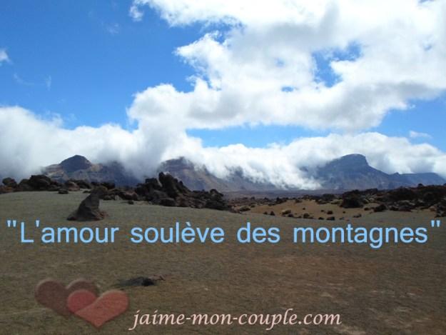 L'amour soulève des montagnes