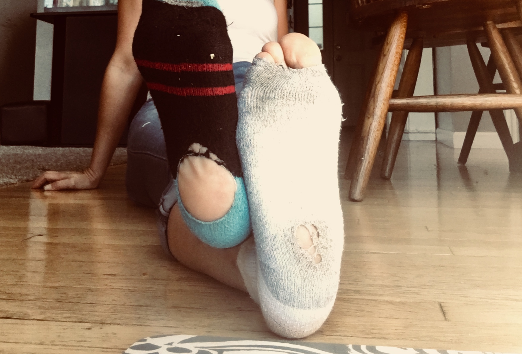 shop for original distinctive design discount up to 60% Holey Socks – Jaime Brinkmann