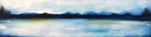 Northeast oil painting landscape
