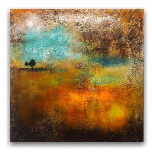 Under The Laurels abstract affordable landscape oil painting
