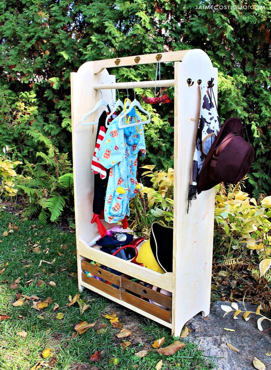 Diy Dress Up Wardrobe Jaime Costiglio