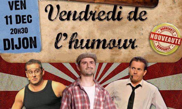 Vendredi de l'humour au Crusoé à Dijon