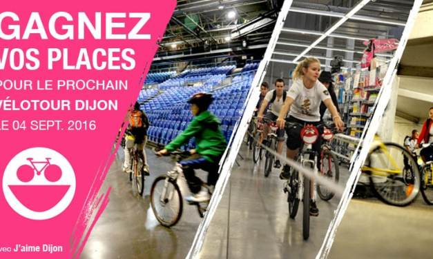 Vélotour Dijon : gagnez vos places pour la 11e édition
