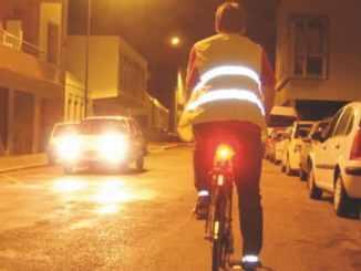 cycliste la nuit