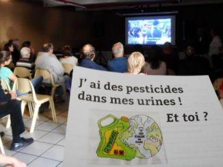 Des pesticides dans mes urines
