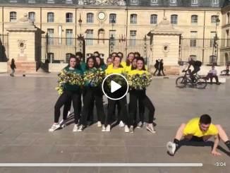 Cheerleading Dijon © Capture écran Facebook