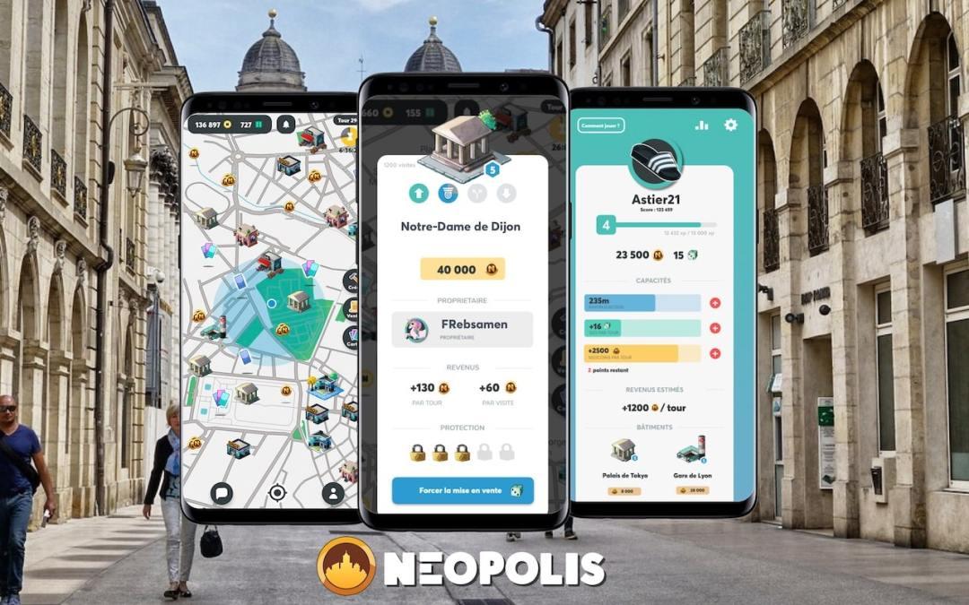 Neopolis débarque à Dijon : Un monopoly grandeur nature depuis son smartphone