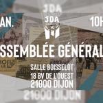 Assemblée générale de la JDA Dijon Bourgogne le samedi 9 janvier 2021