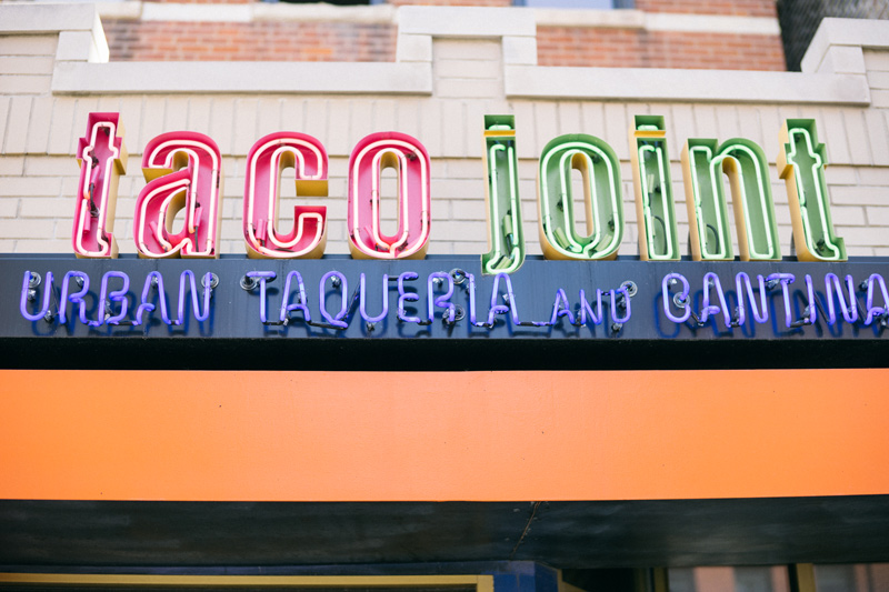 taco joint chicago engagement photos