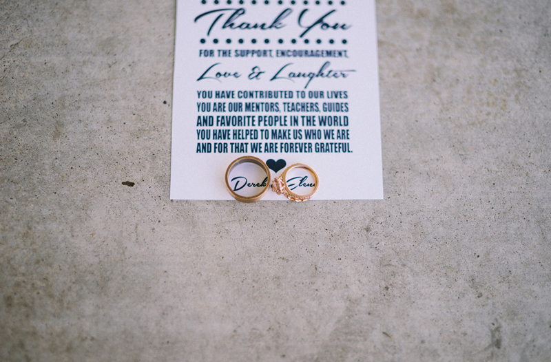 Minneapolis fine art wedding photography of rings and invitations