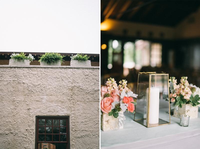 Minneapolis wedding photographer reception decor