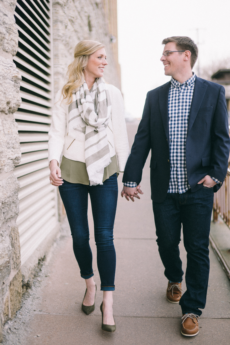 Minneapolis engagement photos