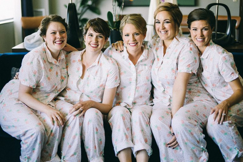 bridesmaids at American Swedish Institute wedding Minneapolis