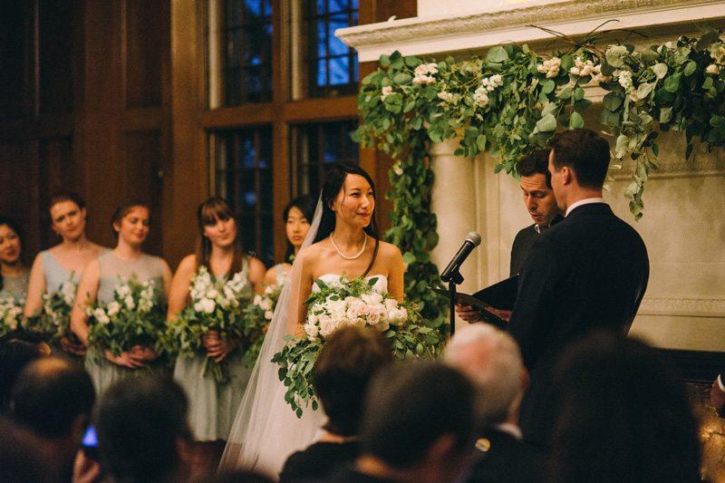 St Paul winter wedding ceremony
