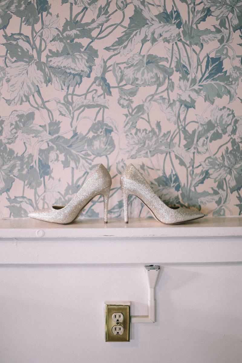 St Paul Athletic Club winter wedding shoes
