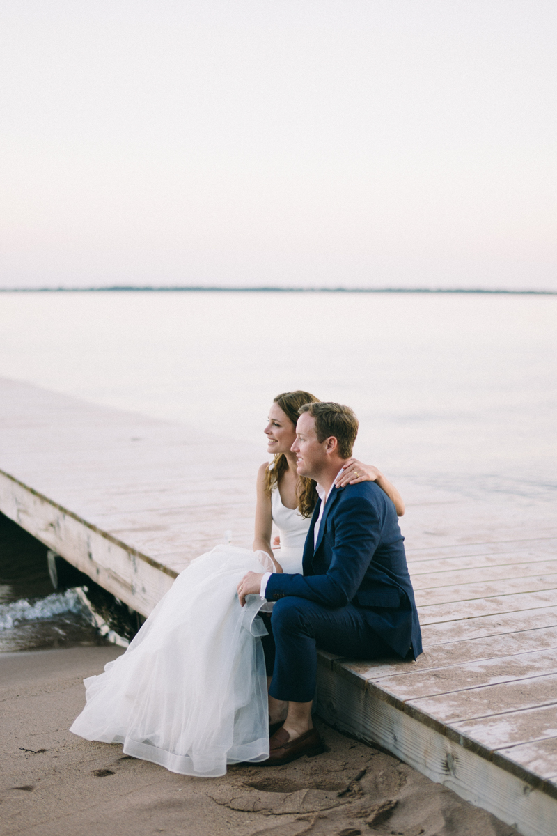 Forest Waterfront Island Wedding