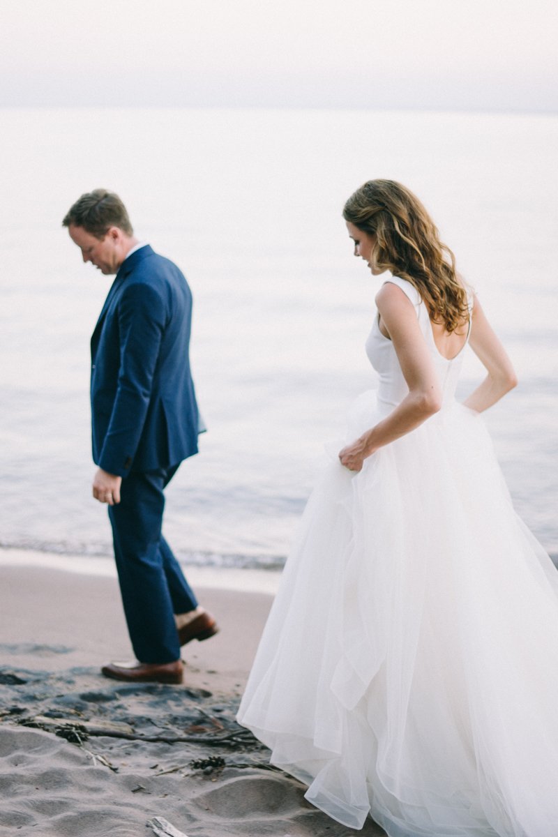 Beach and Forest Island Wedding