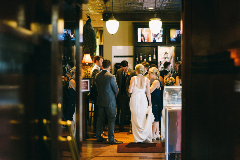 urban fine art wedding